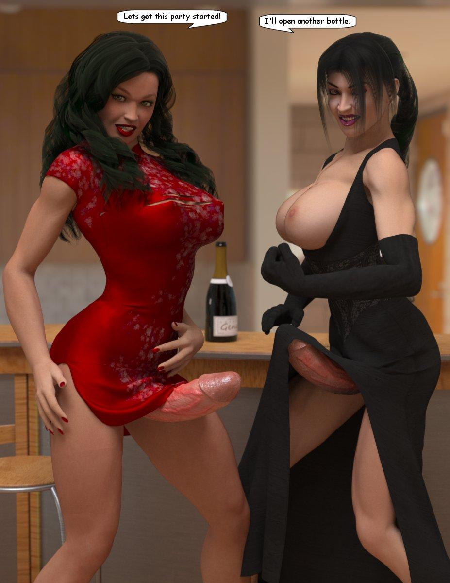 3d animated futanari cartoons