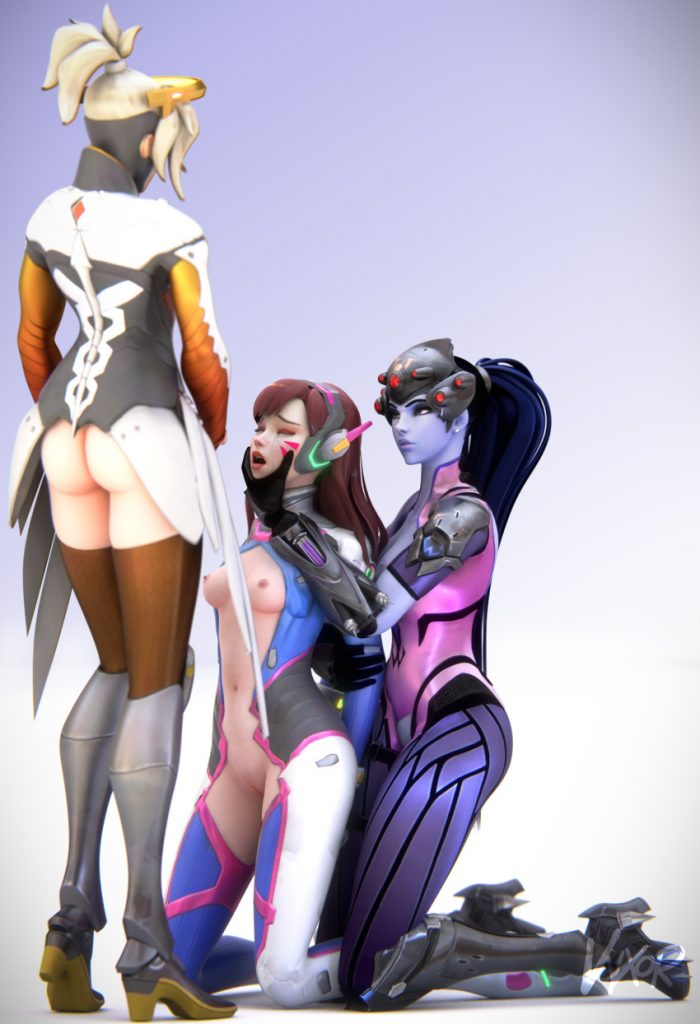 dva mercy futanari
